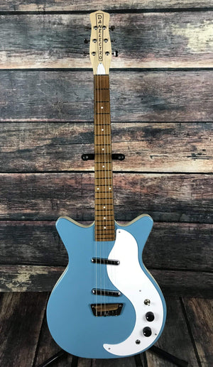 "Danelectro Electric Guitar Danelectro ""Stock 59"" Electric Guitar- Aquamarine"