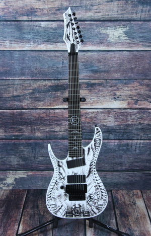 Dean Electric Guitar Dean Left Handed Rusty Cooley Wraith 7-String Electric Guitar