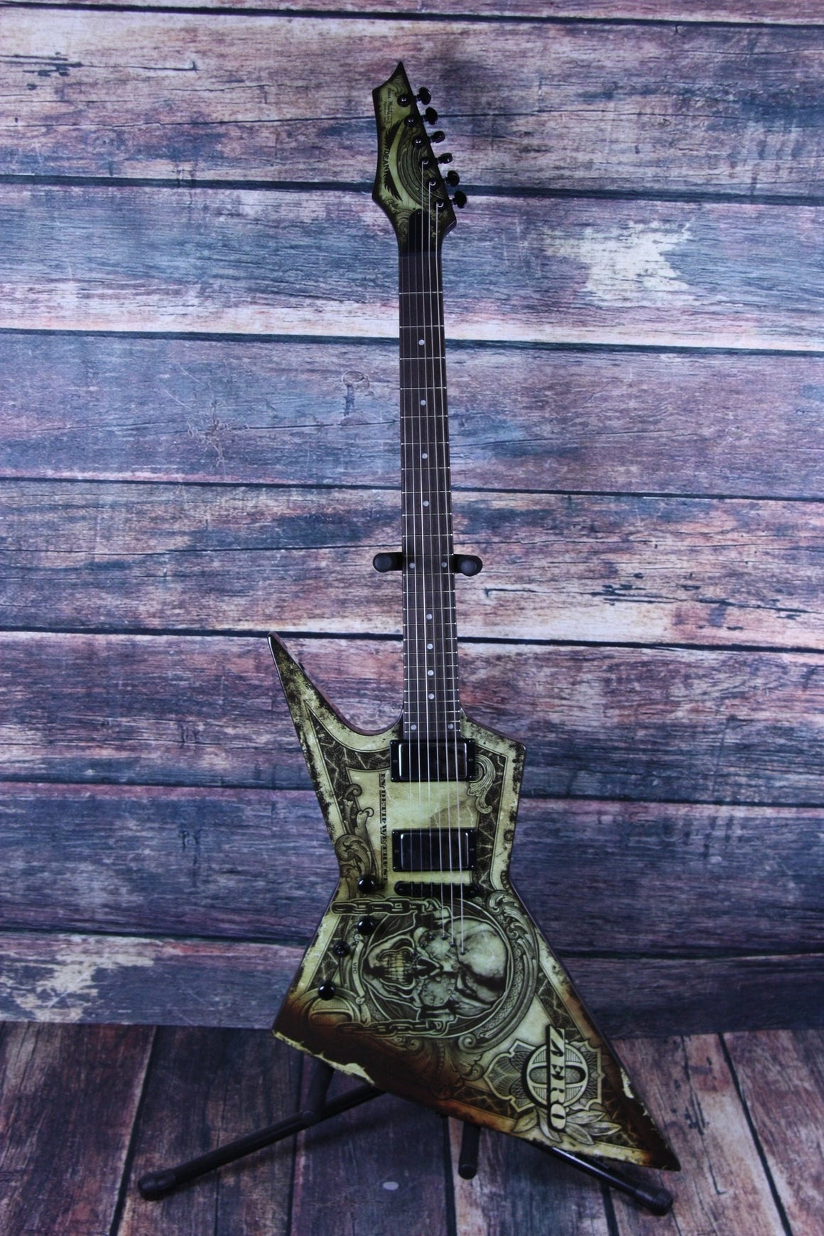 Dean Electric Guitar Dean Left Handed Zero Dave Mustaine Deth We Trust Electric Guitar