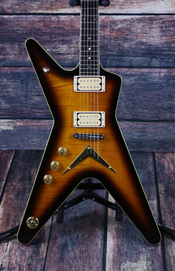 Dean Electric Guitar Guitar Only Dean Left Handed ML Chicago Flame TBZ Electric Guitar