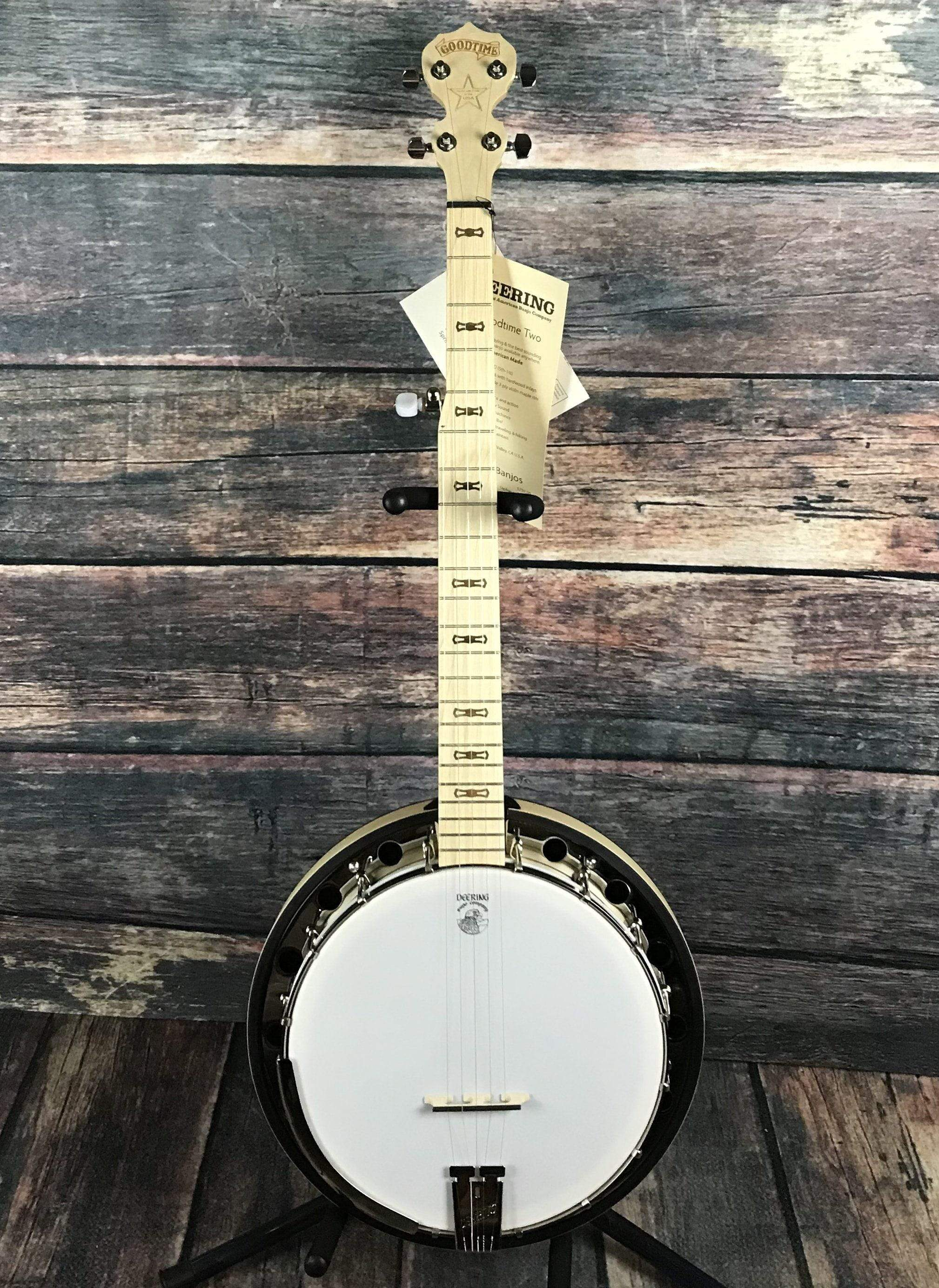 Deering Goodtime Two 5 String Banjo with Resonator