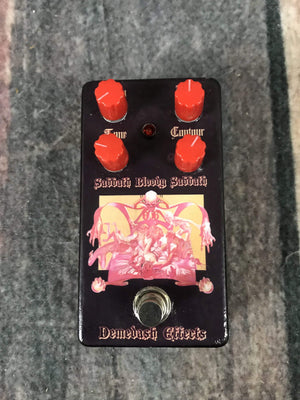 Demedash Effects pedal Demedash Effects Sabbath Bloody Sabbath Overdrive/Distortion Pedal