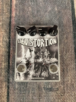 Devi Ever: FX pedal Devi Ever : FX Devistortion Boutique Hand Made USA Made Distortion pedal