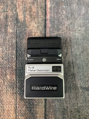 Digitech pedal Used Digitech Hardwire TL-2 Metal Distortion Pedal with Box
