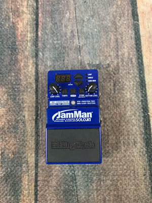 Digitech pedal Used Digitech JamMan SoloXT Looper Pedal