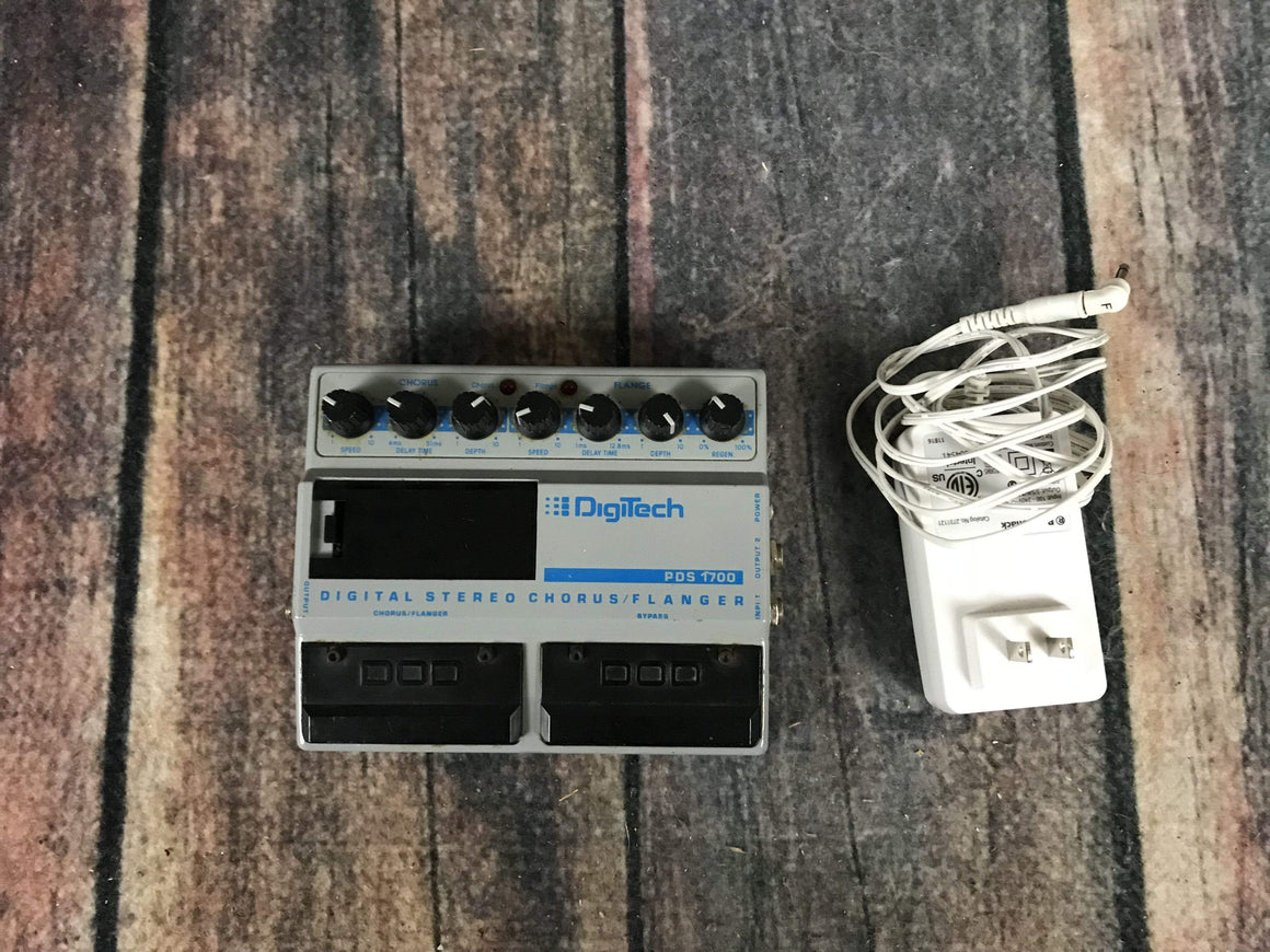 Digitech pedal Used Digitech PDS 1700 Chorus and Flanger Pedal