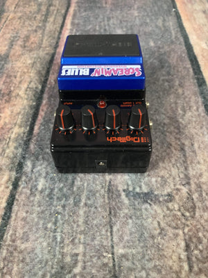Digitech Pedal Used Digitech Screamin Blues Overdrive Pedal