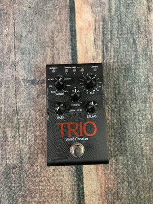 Digitech pedal Used Digitech Trio Band Creator Pedal with Power Supply
