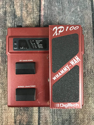 Digitech pedal Used Digitech XP-100 Whammy-Wah Pedal