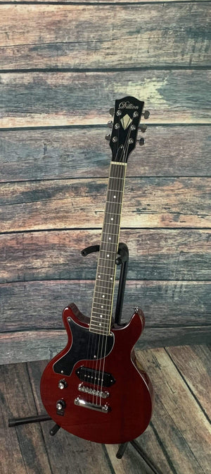 Dillion Electric Guitar Dillion Left Handed DLJR-58 Trans Cherry LP JR Electric Guitar