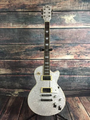 Dillion Electric Guitar Dillion Right Handed DL-650 White Pearl Electric Guitar with Hard shell case