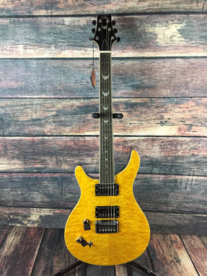 Dillion Electric Guitar Guitar Only Dillion Left Handed DR1500QTI PRS Style Electric Guitar- Lemon Drop