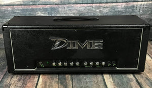 Dime Amplification Amp Used Dime Amplification Dime D100 Head