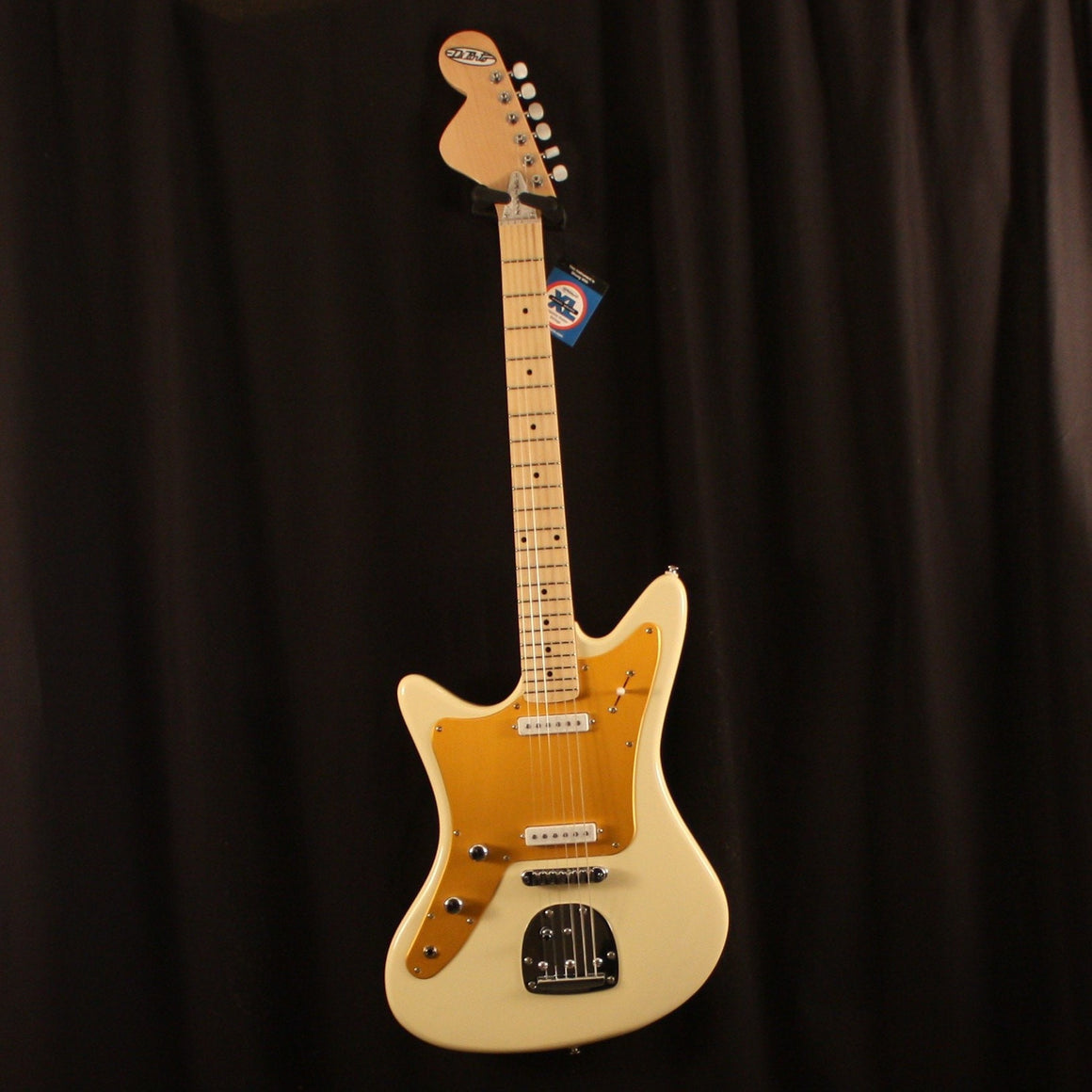 Dipinto Electric Guitar DiPinto Left Handed Galaxie II Electric Guitar Creme/Gold