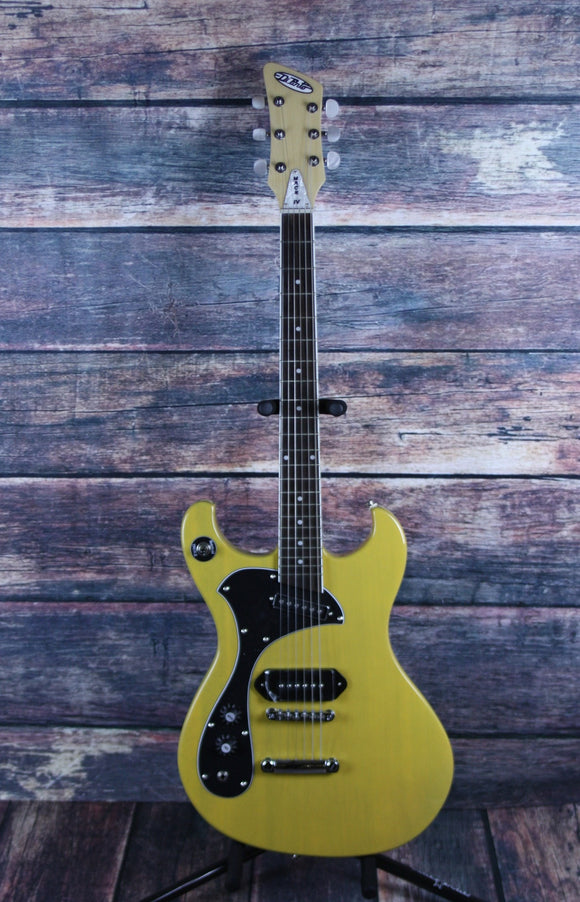 Dipinto Electric Guitar Dipinto Left Handed Melody Mach TV Yellow Electric Guitar
