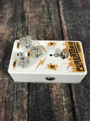 Dolphin's Sound pedal Used Dolphin's Sound Purgatorio Overdrive Pedal with Box