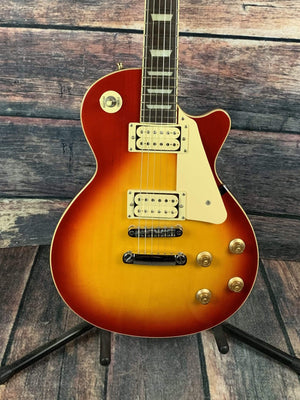 Douglas Electric Guitar Used Douglas Single Cut Away LP Style Electric Guitar with Gig Bag- Cherryburst