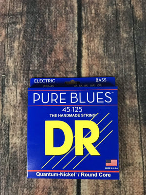 DR Strings Strings DR Strings PB5-45 Pure Blues 5 String 45-125 Gauge Electric Bass Strings