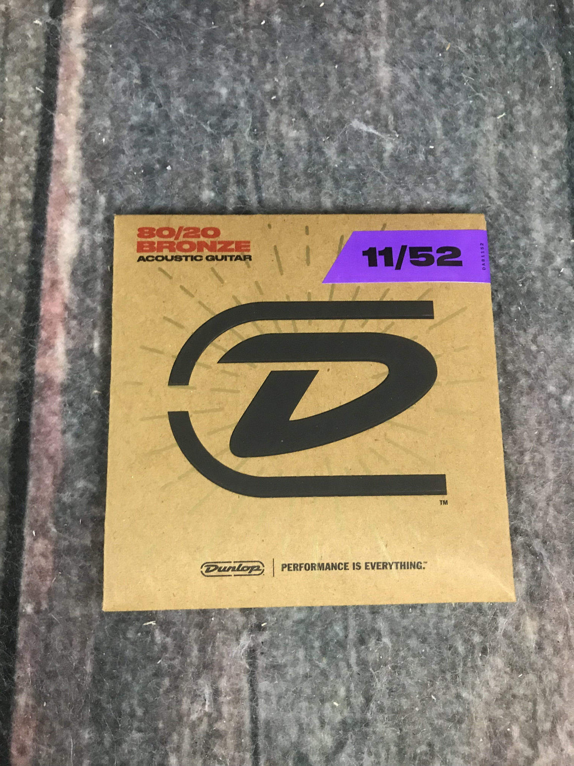 Dunlop Acoustic Guitar Strings Dunlop DAB1152 Medium Light 80/20 Bronze Acoustic Guitar Strings