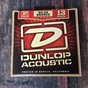 Dunlop Acoustic Guitar Strings Dunlop DAB1356 Medium 80/20 Bronze Acoustic Guitar Strings