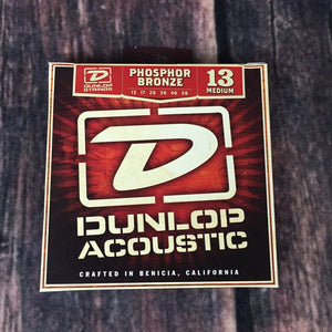 Dunlop Acoustic Guitar Strings Dunlop DAP1356 Medium Phosphor Bronze Acoustic Guitar Strings