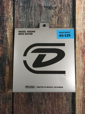 Dunlop Bass Strings Dunlop Nickel Wound Super Bright DBSBN45125 5 String Bass Strings