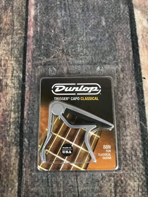 Dunlop capo Dunlop 88N TRIGGER® Classical Guitar Capo- Nickel