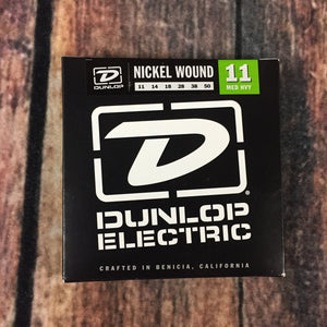 Dunlop Electric Guitar Strings Dunlop Nickel Wound .11 Gauge Medium/Heavy DEN1150 Electric Guitar Strings