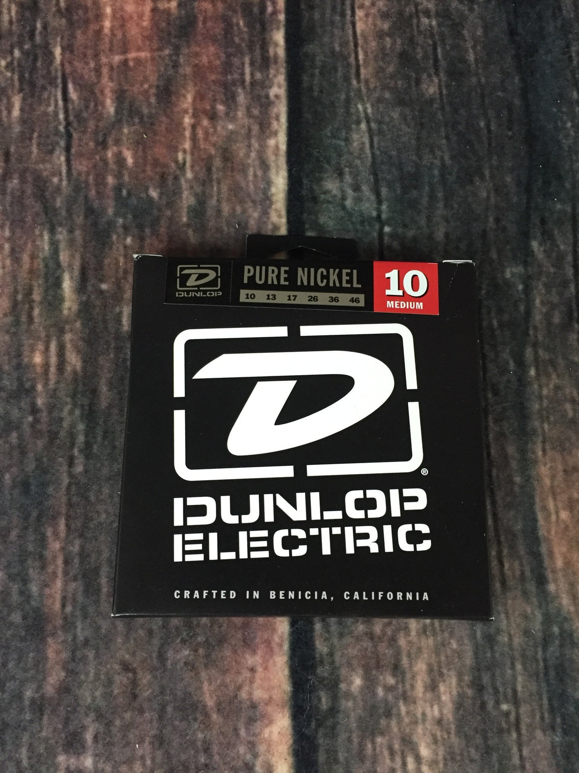 Dunlop Electric Guitar Strings Dunlop Pure NIckel .10 gauge DEK1046 Medium Electric Guitar Strings