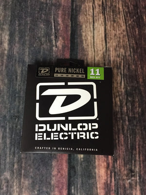 Dunlop Electric Guitar Strings Dunlop Pure Nickel .11 Gauge DEK1150 Medium/Heavy Electric Guitar Strings