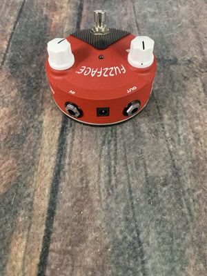 Dunlop pedal Used Dunlop FFM6 Band of Gypsys Fuzz Face Mini Distortion Pedal with Box