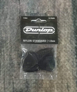 Dunlop Pick Dunlop Nylon Standard 1.0mm 44P1.0 Pick Pack