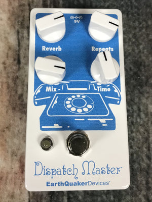 Earthquaker Devices pedal Earthquaker Devices Dispatch Master Digital Delay and Reverb Pedal