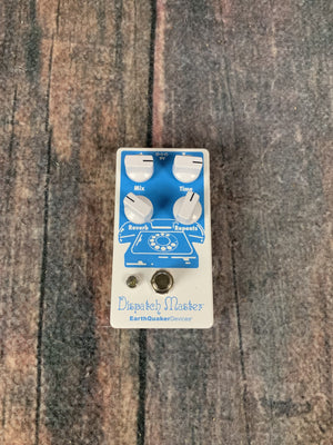 Earthquaker Devices pedal Earthquaker Devices Dispatch Master Digital Delay and Reverb V2 Pedal