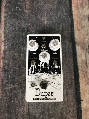 Earthquaker Devices pedal EarthQuaker Devices Dunes Mini Mega Ultimate Overdrive Pedal
