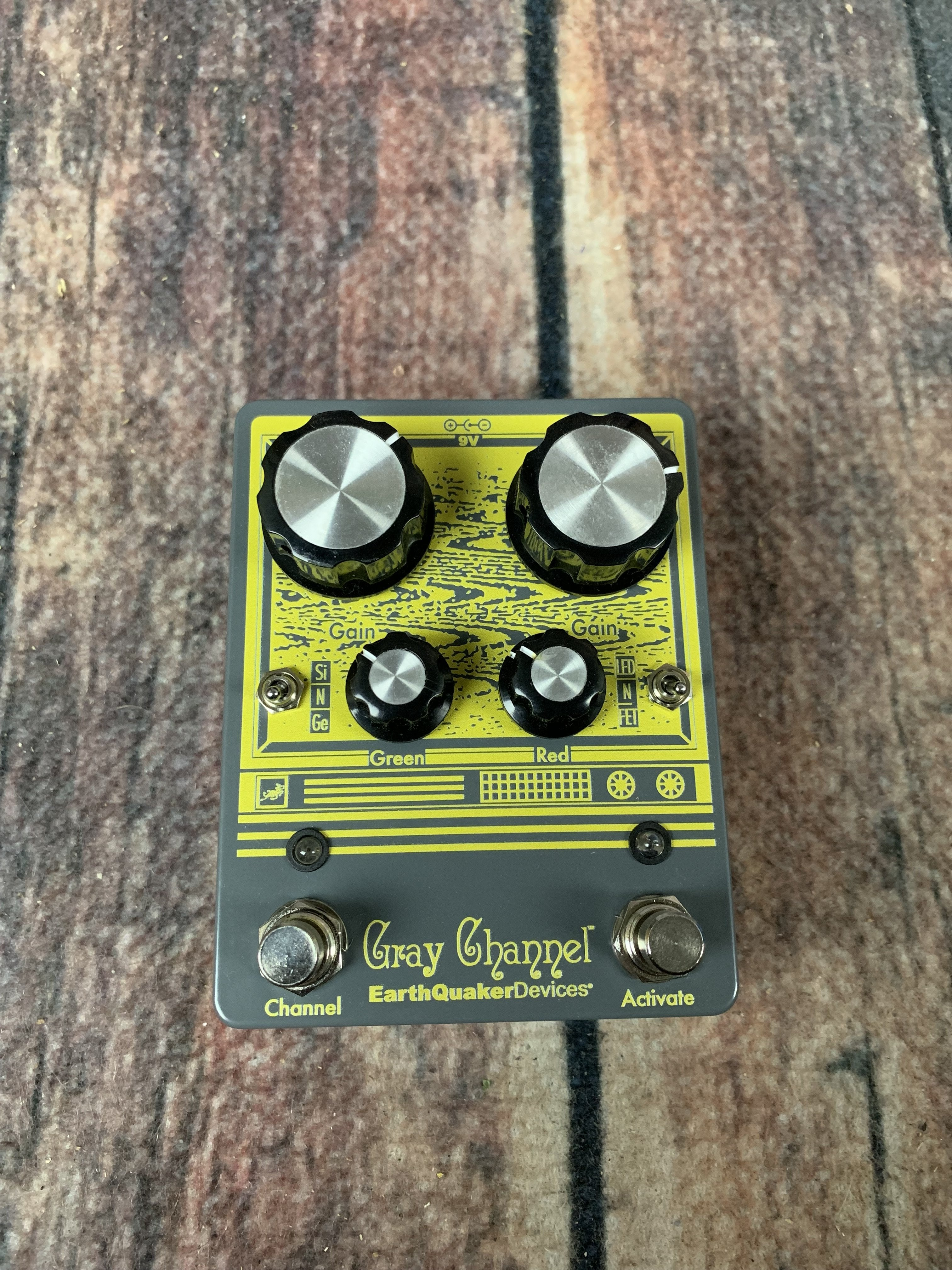 EarthQuaker Devices Gray Channel Dynamic Dirt Doubler Overdrive Guitar Effects Pedal