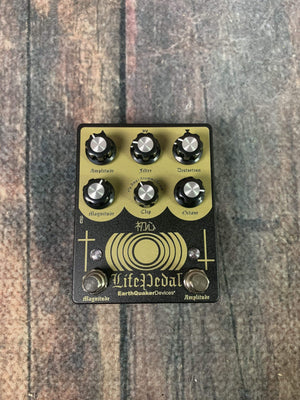 Earthquaker Devices pedal Earthquaker Devices Life Pedal V2 Distortion/Analog Octave/Boost Pedal