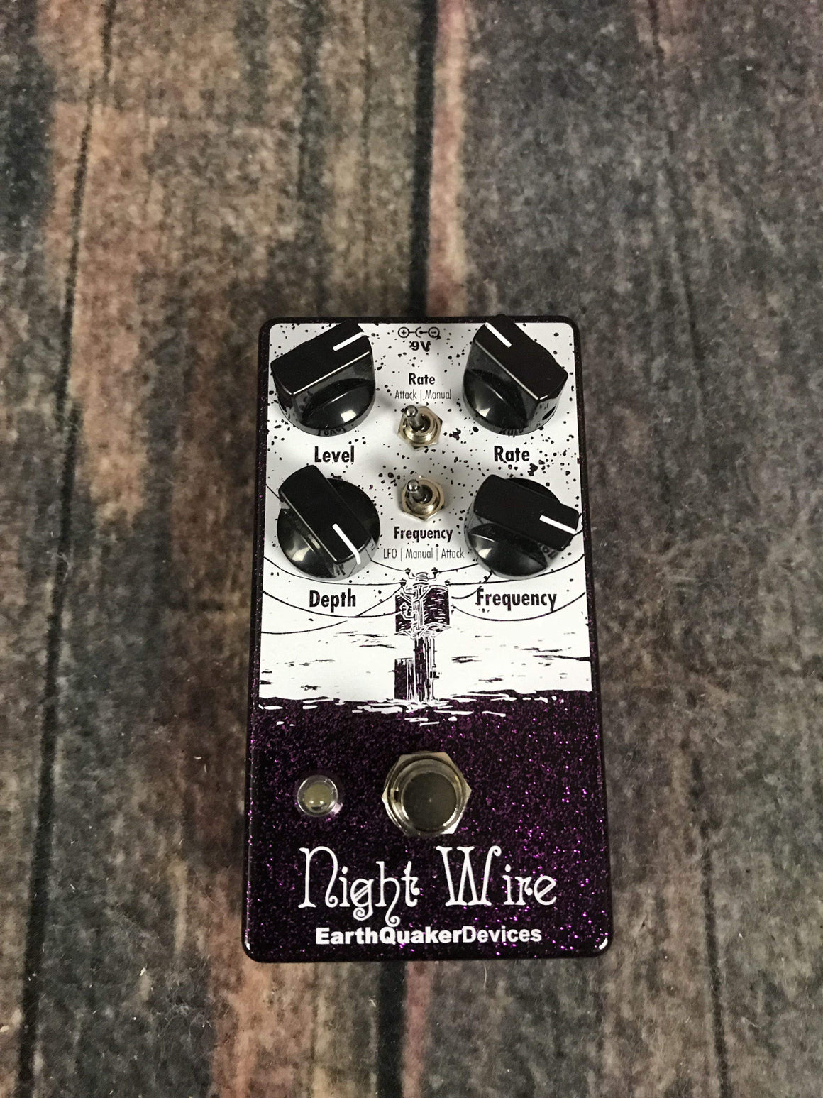Earthquaker Devices pedal Earthquaker Devices NightWire Harmonic Tremolo