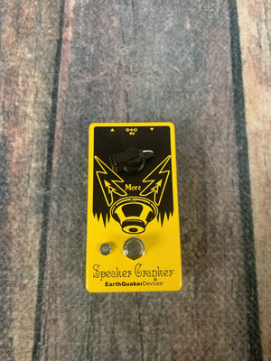 Earthquaker Devices pedal EarthQuaker Devices Speaker Cranker Overdrive Pedal