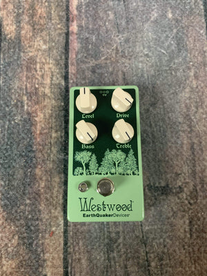 Earthquaker Devices pedal Earthquaker Devices Westwood Translucent Drive Manipulator Pedal