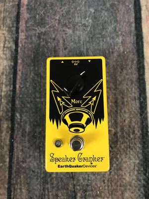 Earthquaker Devices pedal Used EarthQuaker Devices Speaker Cranker Overdrive Pedal with Box