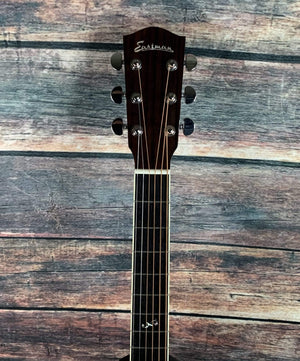 Eastman Acoustic Guitar Used Eastman 2020 AC422CE Grand Auditorium Acoustic Electric with Case
