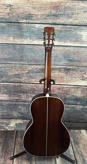Eastman Acoustic Guitar Used Eastman 2020 Left Handed E20 OOL Small Body Acoustic with Eastman Case