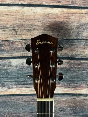 Eastman Acoustic Guitar Used Eastman AC420 Dreadnought Acoustic Electric with Case