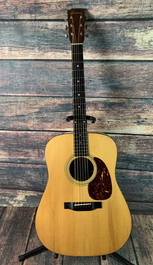 Eastman Acoustic Guitar Used Eastman E10D Dreadnought Acoustic Electric with Case