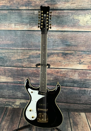 Eastwood Electric Guitar Eastwood Left Handed SideJack 12 DLX 12 String Electric Guitar