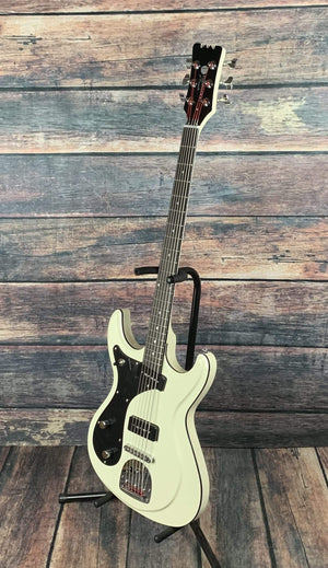 Eastwood Electric Guitar Eastwood Left Handed SideJack Bass IV Electric Bass Guitar
