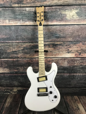 Eastwood Electric Guitar Eastwood Phase 4 Hi Flier (Nirvana Replica) Electric Guitar- White