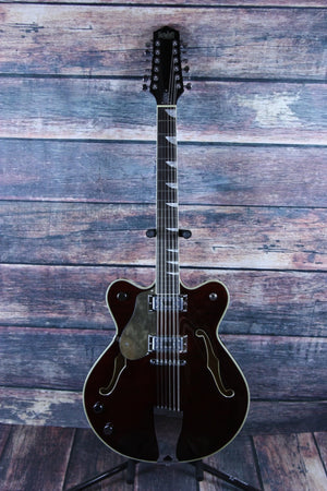 Eastwood Electric Guitar With Hard Shell Case Eastwood Left Handed Classic 12 Electric Guitar