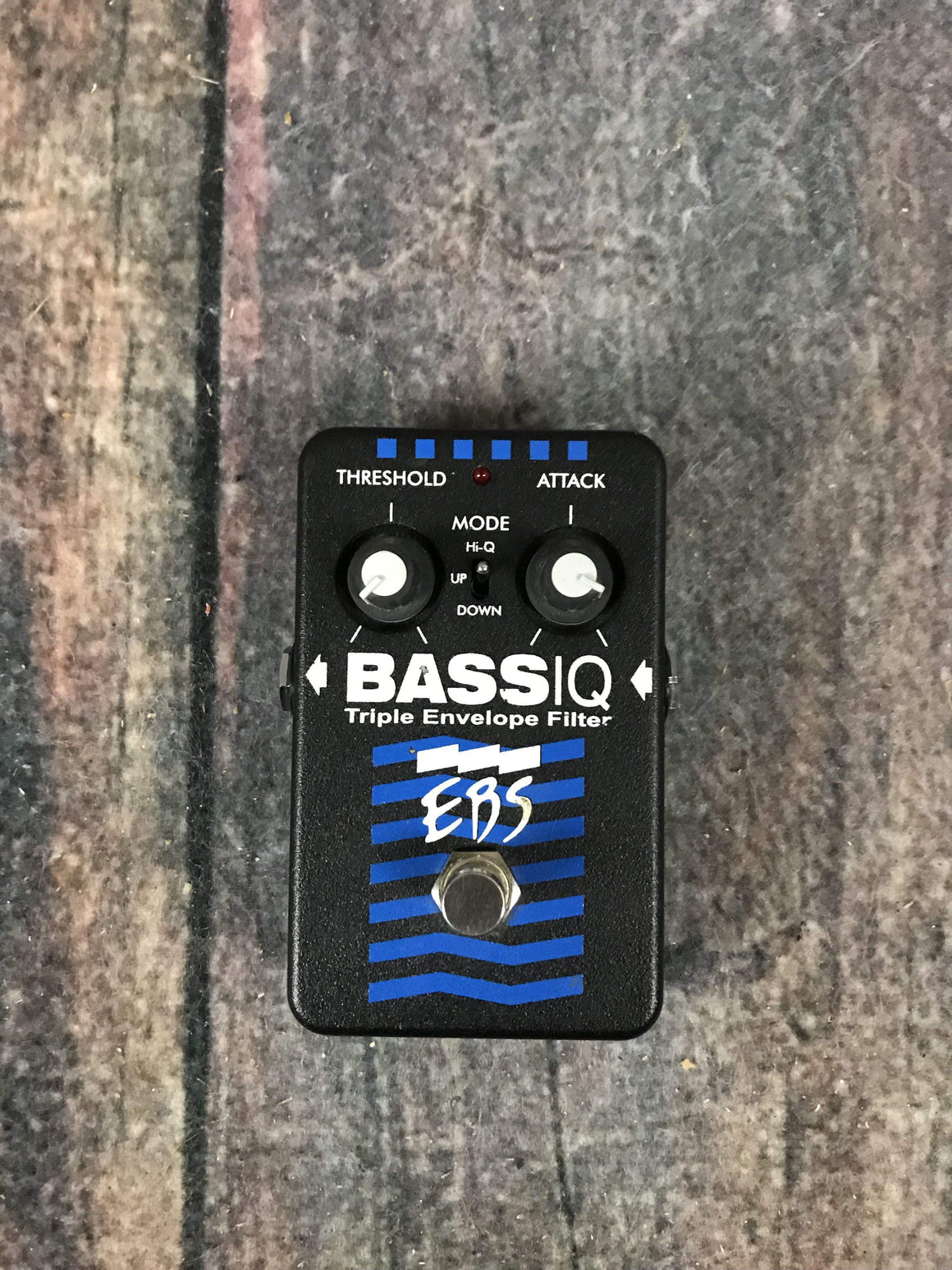 EBS pedal Used EBS Bass IQ Triple Envelope Filter